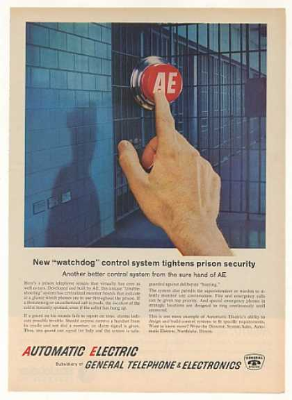 Automatic Electric GTE Prison Telephone System (1963)