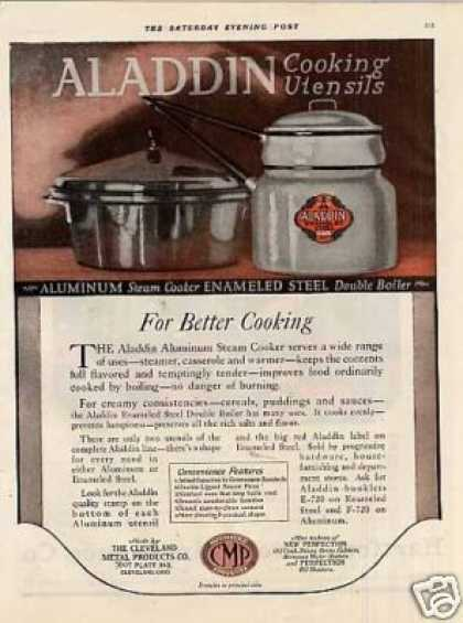 Aladdin Cooking Utensils Color (1920)