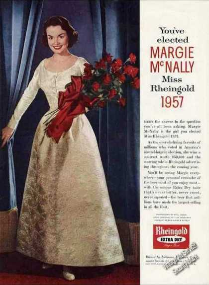 Rheingold Beer &quot;You&#8217;ve Elected Margie Mcnally&quot; (1956)