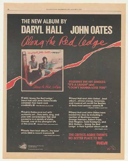 Daryl Hall John Oates Along The Red Ledge (1979)