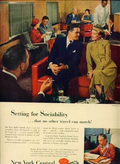 New York Central C Ad Lounge Car (1948)