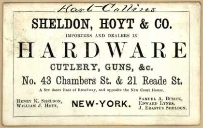 Sheldon, Hoyt & Co. – Sheldon, Hoyt & Co. Importers and Dealers in Hardware