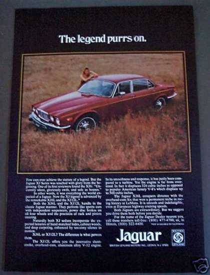 Jaguar Car Classic Automobile (1975)
