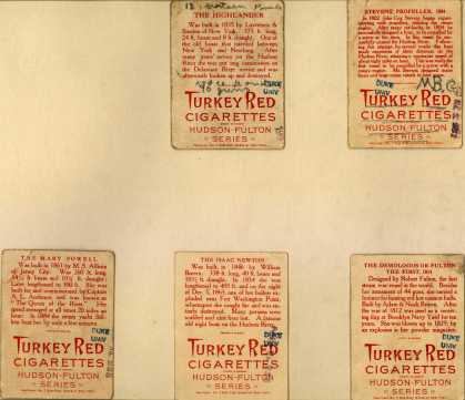 Turkey Red Cigarettes – Hudson-Fulton – Image 2