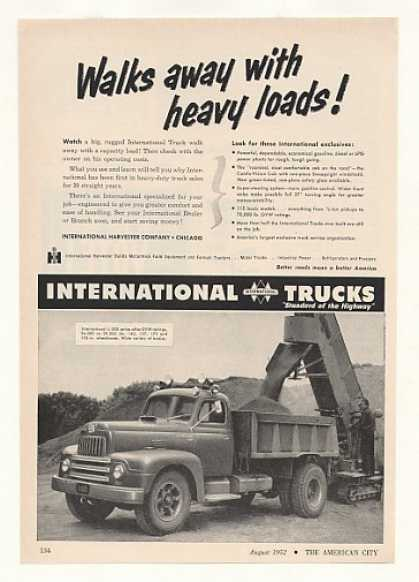 International Harvester L-200 Dump Truck Photo (1952)