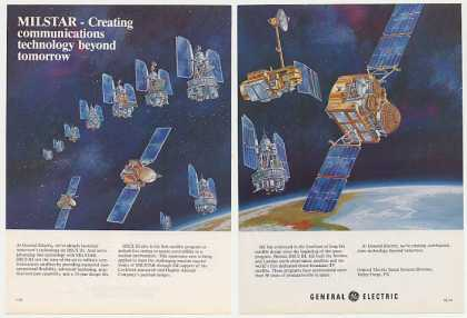 General Electric DSCS III MILSTAR Satellite 2-P (1982)