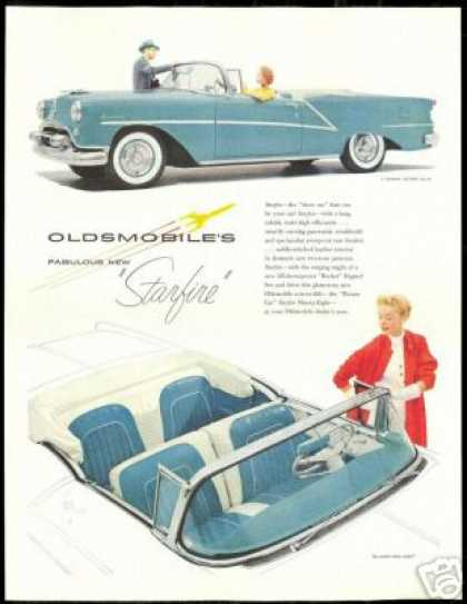 Oldsmobile Starfire Convertible Vintage (1954)