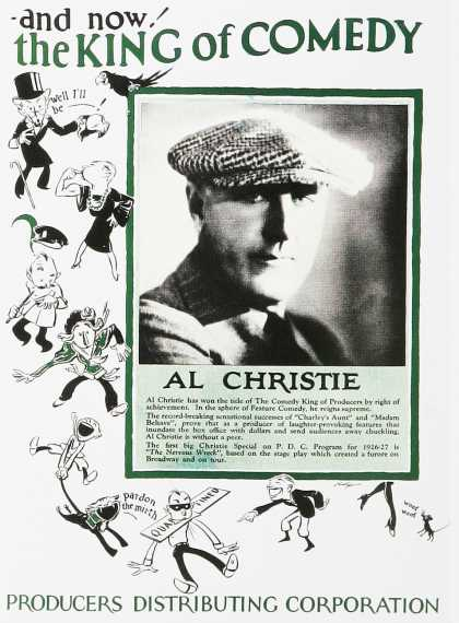 The King of Comedy Al Christie