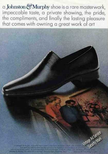 Johnston & Murphy New Castle Slip On Mens Shoe (1967)