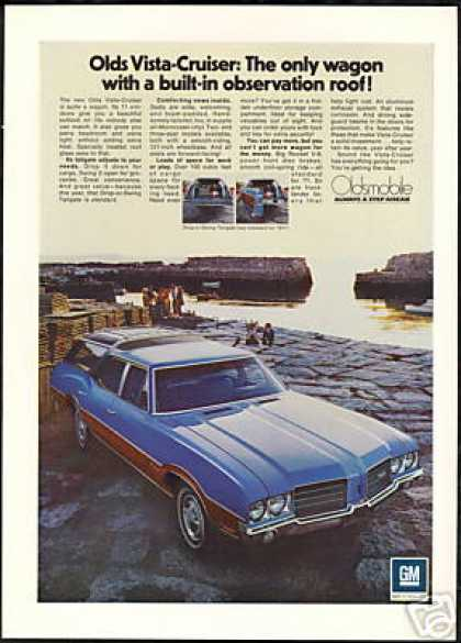 Oldsmobile Vista Cruiser Wagon Photo Vintage (1971)