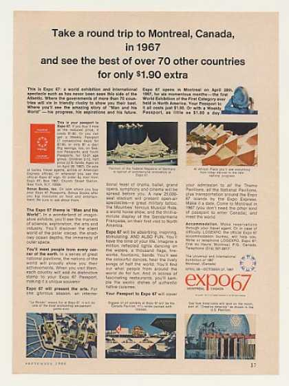 Expo 67 Montreal Canada Exhibition (1966)