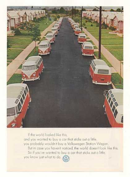 VW Station Wagon If World Looked Like This (1964)