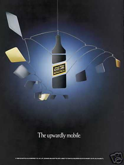 Johnnie Walker BL Scotch Upwardly Mobile (1988)