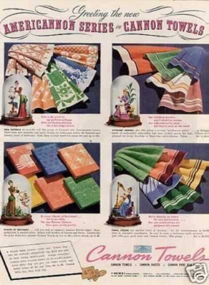 Cannon Towels (1939)