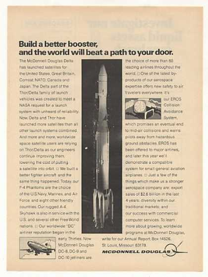 McDonnell Douglas Delta Rocket Launch Vehicle (1971)