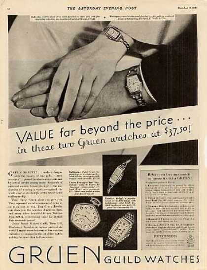 Gruen Watches (1931)