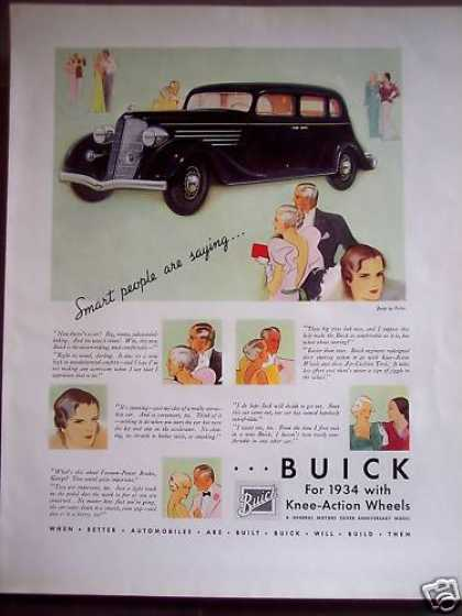 Buick W/ Knee-action Wheels Classic Car (1934)