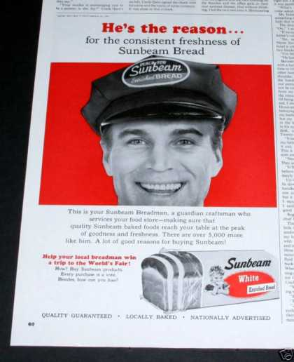 Sunbeam White Bread, Breadman (1964)