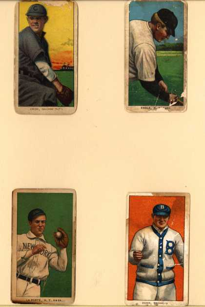 Ligget &amp; Myer&#8217;s Piedmont Cigarettes &#8211; Baseball Series (long series)