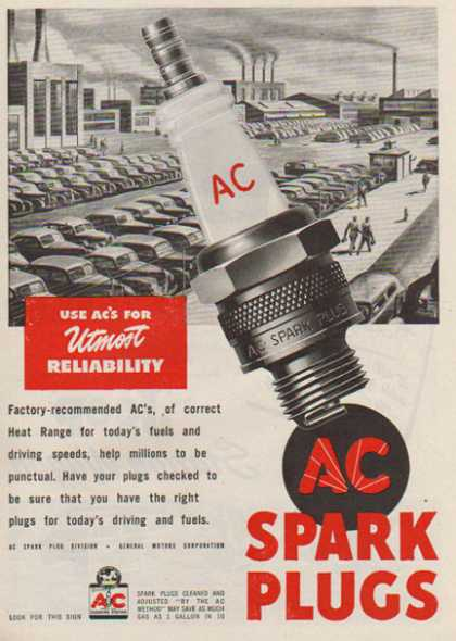 AC Spark Plugs – General Motors Corporation (1947)