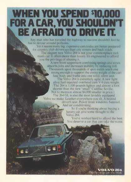 Volvo 264 – Car – You shouldn't be afraid to drive it (1976)