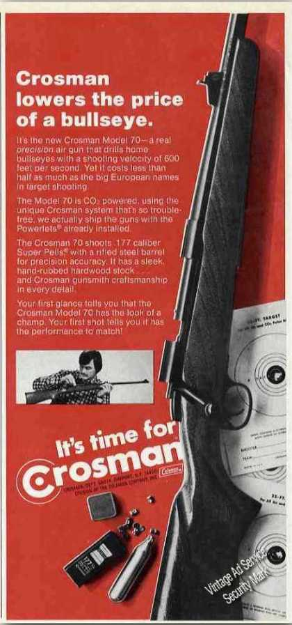 Crosman Model 70 Air Gun Collectible (1974)