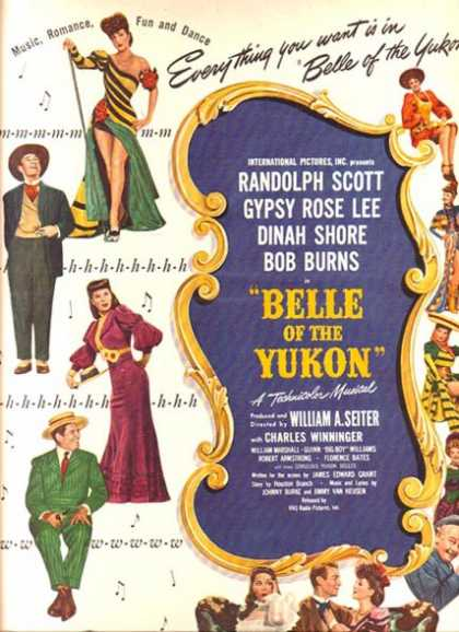 Belle of the Yukon (1945)