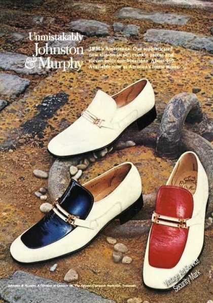 Johnston & Murphy Americana Shoes (1973)