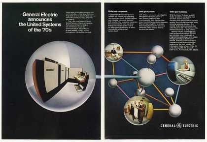 GE General Electric United Systems Computer 2-P (1970)