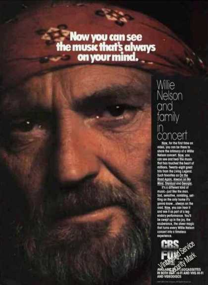 Willie Nelson & Family In Concert Video Promo (1984)