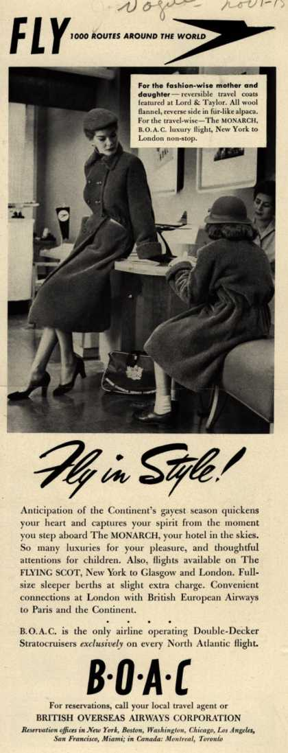 British Overseas Airways Corporation – Fly in Style (1951)