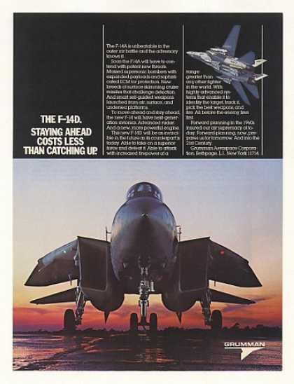 Grumman F-14D Aircraft Photo (1984)
