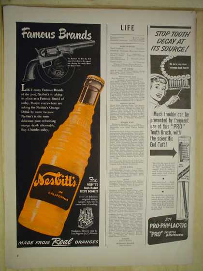 Nesbitt Orange Soda Colt Handgun Theme (1950)