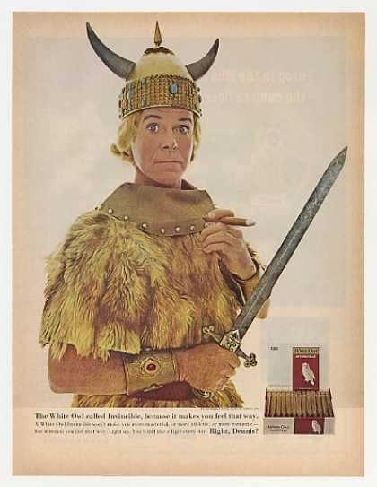 Invincible Viking Dennis Day White Owl Cigar (1964)