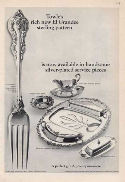 Towle's Sterling Silver Plated Service (1965)
