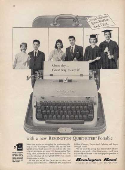 Remington Rand Portable Typewriter (1957)