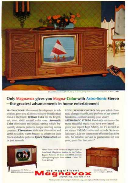 Magnavox – Color Stereo Theatre – Model 575 (1965)