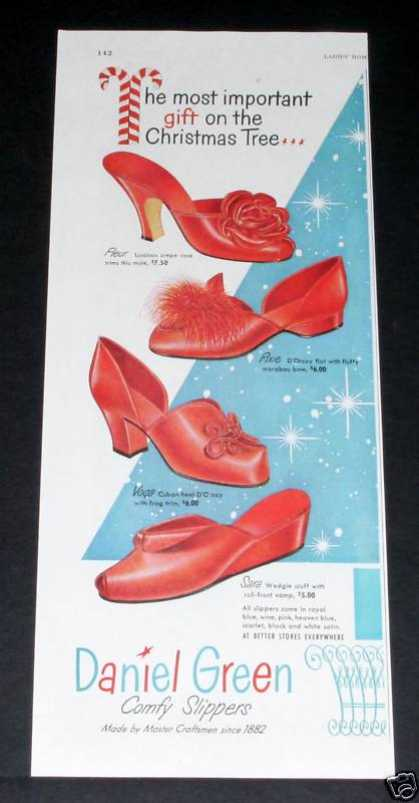 Daniel Green Shoes, Christmas (1949)