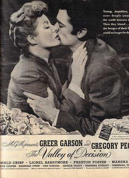 The Valley of Decision (Greer Garson and Gregory Peck) (1945)