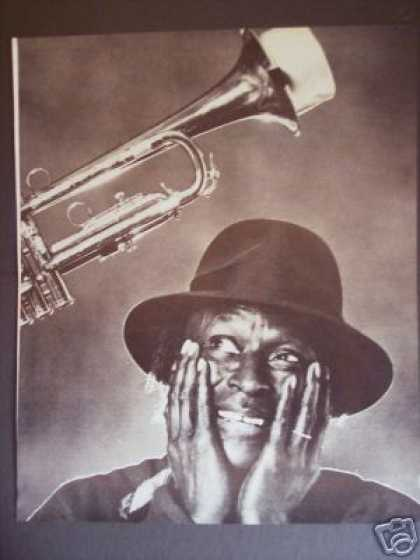 Musician Miles Davis Great Promo Photo (1983)