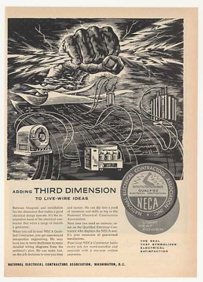 NECA Electrical Contractors 3rd Dimension (1953)