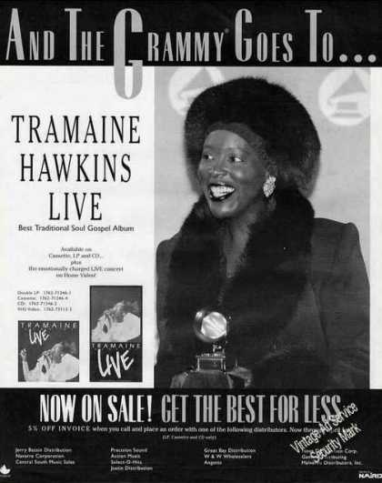 Tramaine Hawkins Photo Soul Gospel Music (1991)