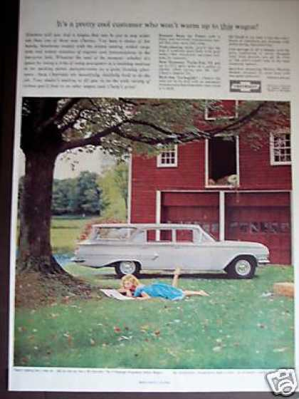 Chevrolet Kingswood Station Wagon Farm Photo (1960)