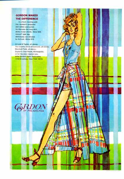 Lord & Taylor Gordon of Philadelphia Design Art (1972)