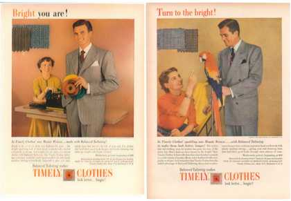 Timely Clothes – Set of 2 with fashion history (1949)