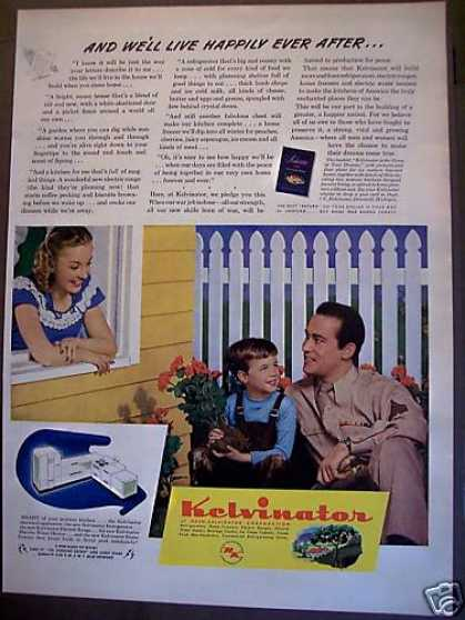 Kelvinator Kitchen Appliances (1945)