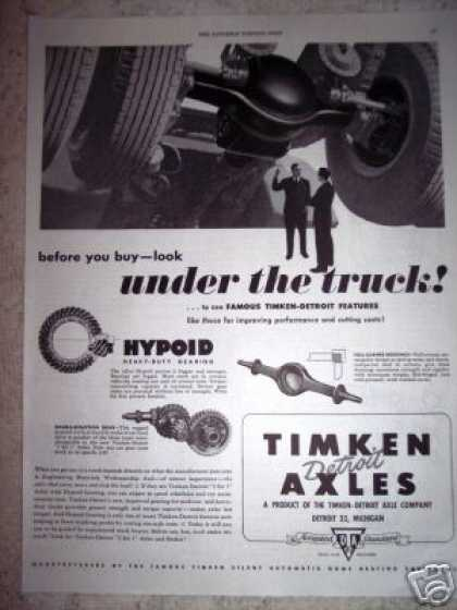 Timken Detroit Truck Axles (1949)