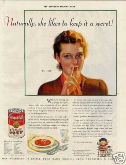 Campbell's Tomato Soup (1933)