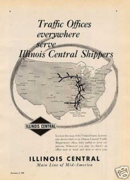 Illinois Central Railroad (1950)