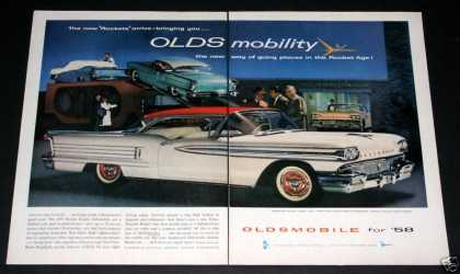 Oldsmobile 98 Holiday Coupe (1957)